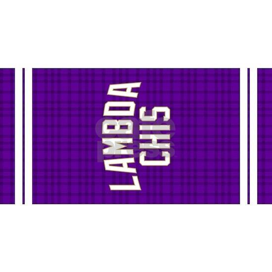 Lambda Chi Alpha Purple Plaid