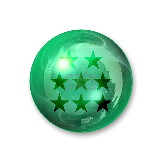 Lucky Eight Stars Ball (Green)