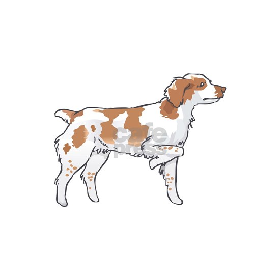 BRITTANY SPANIEL ON POINT