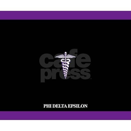 Phi Delta Epsilon Logo Laptop Sleeve