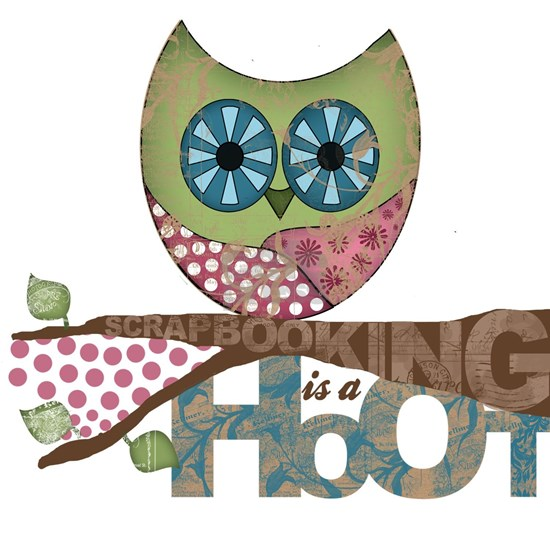 Scrapbooking is a Hoot! Featuring Owl