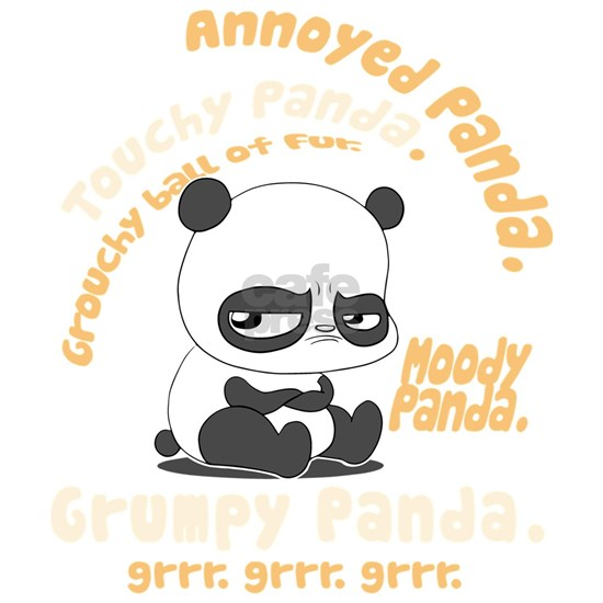 annoyed panda t-shirts