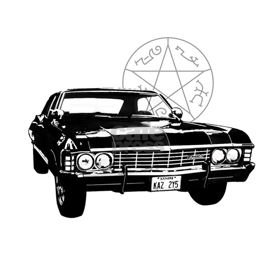 Impala with devils trap