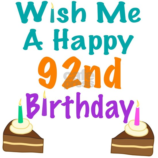 Wish me a happy 92nd Birthday