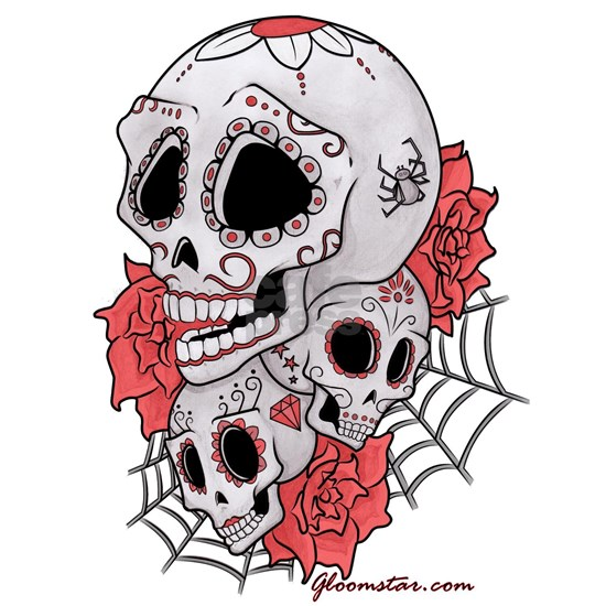 Sugar Skulls and Roses