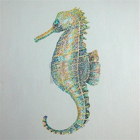 Abstract Seahorse
