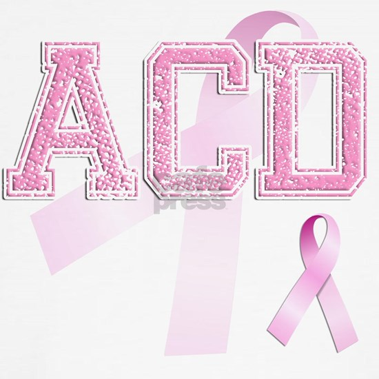 ACD initials, Pink Ribbon,