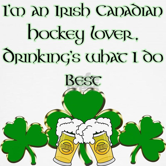 Irish Canadian Hockey Lover