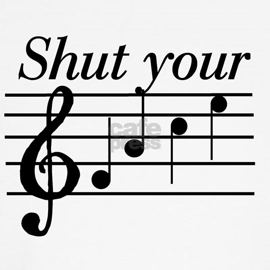 Shut your face music t-shirts and gifts.