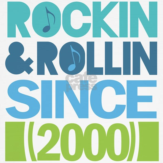 2000 Birthday Year Rock and Roll