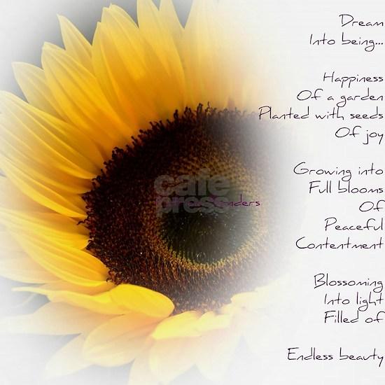 Sunflower Dream Poem
