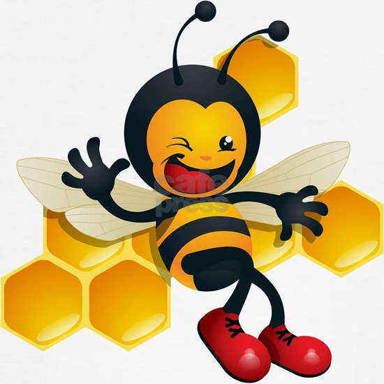 cute baby honey bumble bee bug
