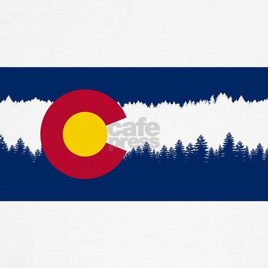 Colorado Flag Silhouette