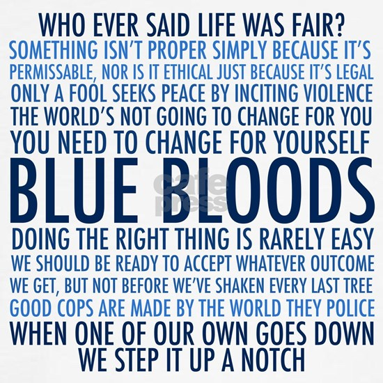 Blue Bloods Quotes