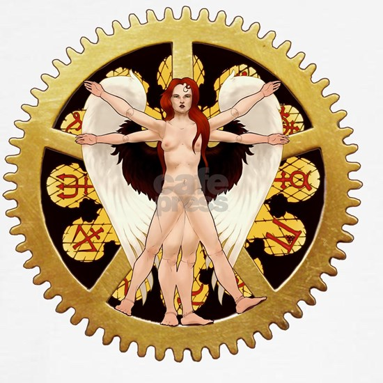 The Vitruvian Angel