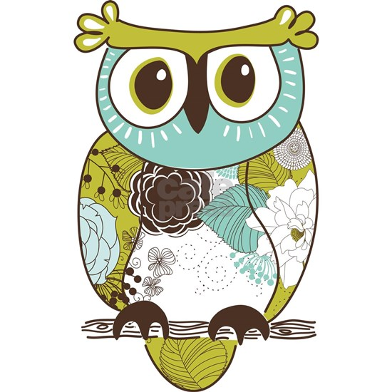 Teal Green Owl
