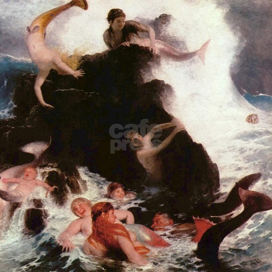 Arnold Bocklin Mermaids At Play