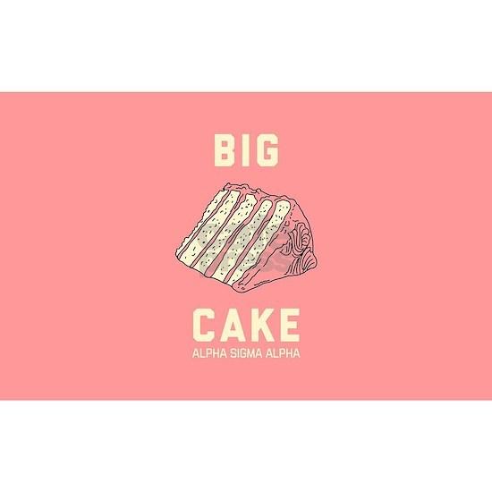 Alpha Sigma Alpha Big Cake