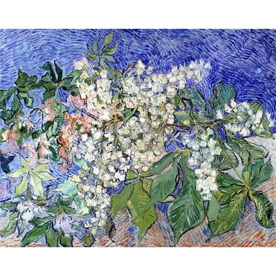 Van Gogh Blossoming Chestnut Branches