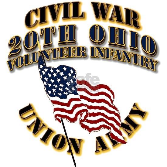 Civil War - 20th Ohio Volunteer Infantry - USA