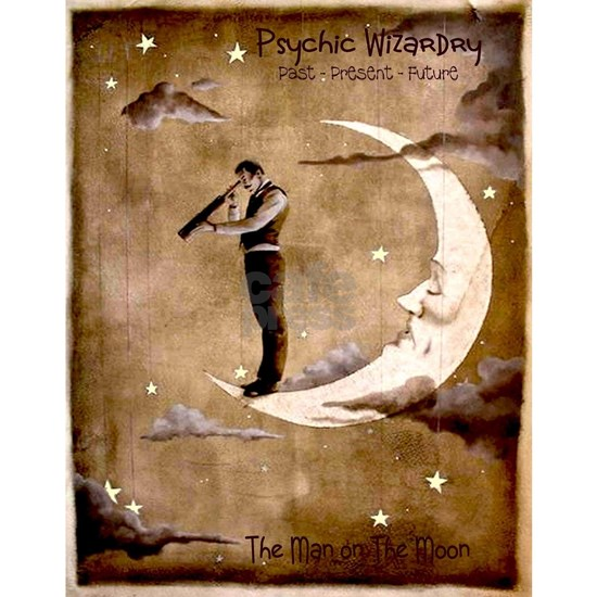 Psychic Wizardry, Man on the Moon Print