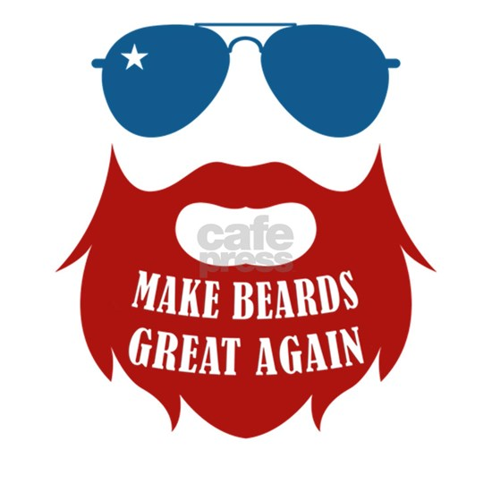 Mens Make Beards Great Again Beard designs for Him