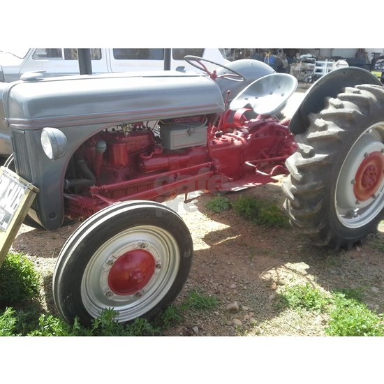 Old Grey Farm Tractor