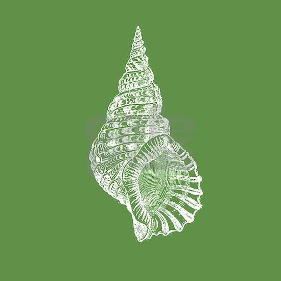 Dark Green Conch shell
