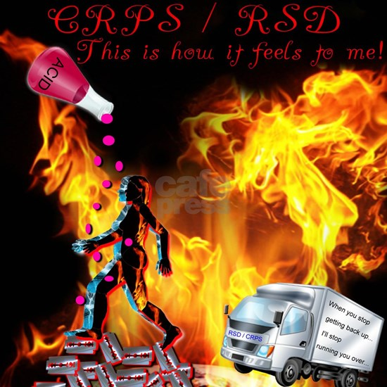CRPS RSD This is how it Feels to Me Acid Razor Bla
