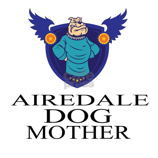 Airedale Dog Mother
