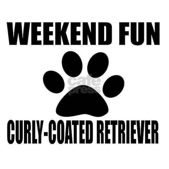Weekend Fun Curly-Coated Retriever Dog Designs