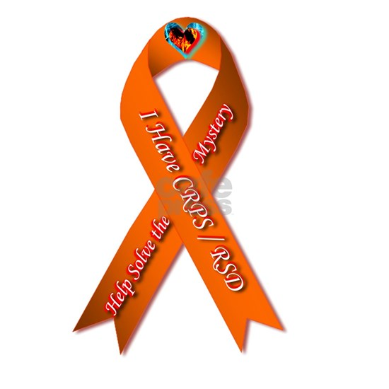 I have CRPS Fire & Ice Heart Ribbon
