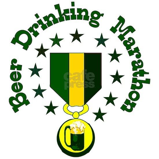 Beer Drinking Marathon Medal