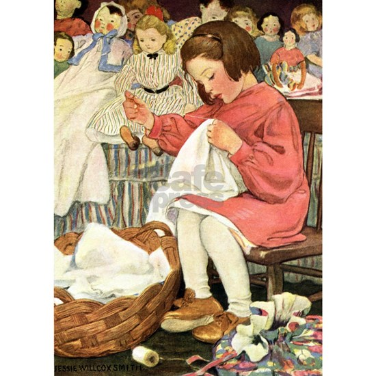 A Childs Book-Sewing