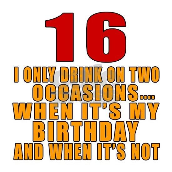 16 Birthday Designs