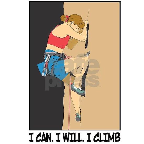 Women's Rock Climber