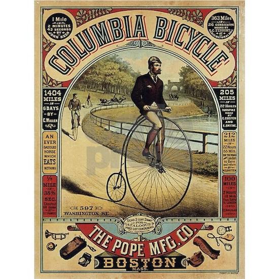 Vintage poster - Columbia Bicycle