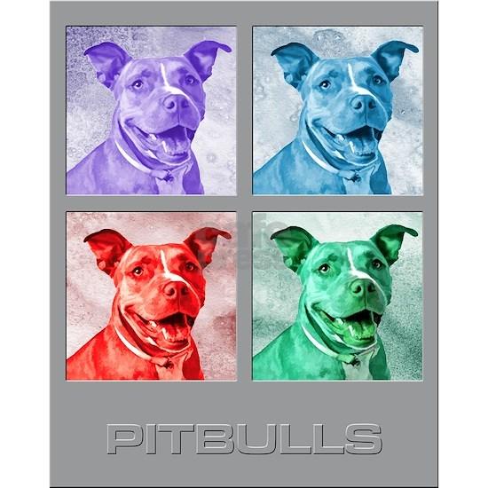 Homage to Warhol Pitbulls