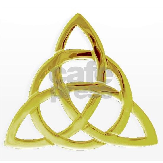 Gold Triqetra