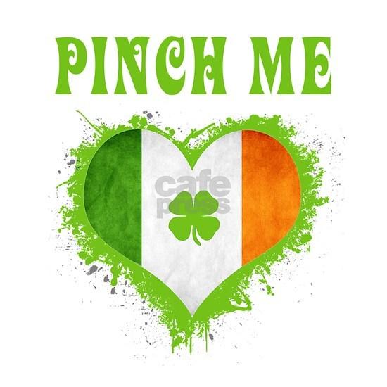 St.Patrick Pinch Me Irish Flag Gift Shirt Shamrock