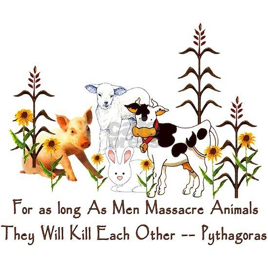 Pythagorus Vegetarian Quote
