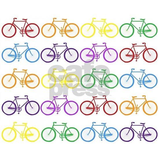 rainbow bicycles