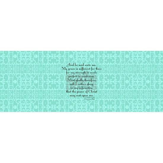 2 Corinthians 12:9 green