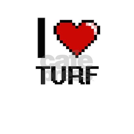 I love Turf digital design