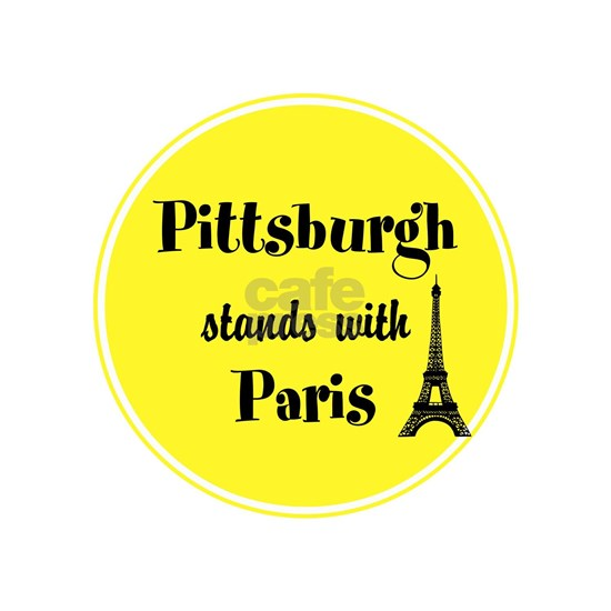 Pittsburgh stands with Paris