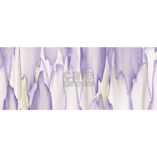 Abstract Orchid Painting