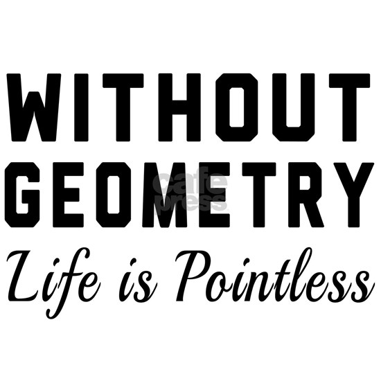 Without geometry pointless