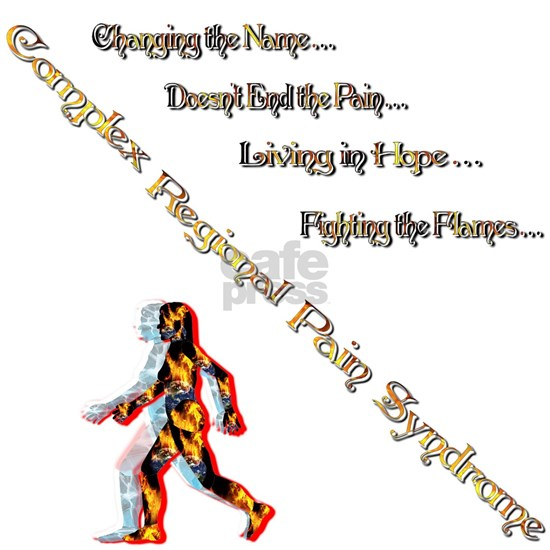 CRPS- Living Fighting the flame