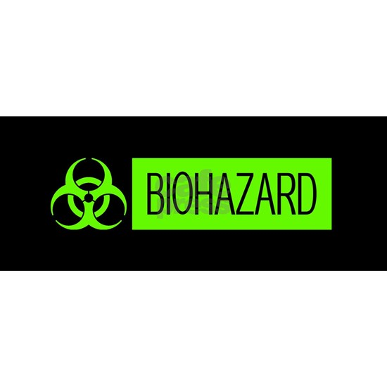 HAZMAT: Biohazard (Slime Green & Black)
