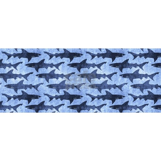 Sharks in the Blue Sea